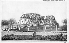 ETATS UNIS new illinois river bridge morris III