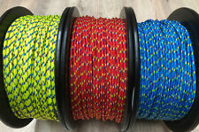 Evolution Performance 4mm-5mm Dinghy Rope Per/metre Kingfisher Free P&P