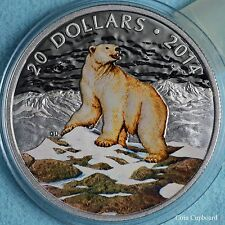 2014 Canada $20 Iconic Animals - POLAR BEAR
