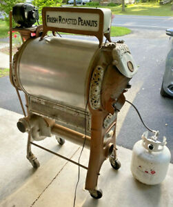 1920s Royal No. 5 Coffee and Planters Peanut Roaster 25 lb.