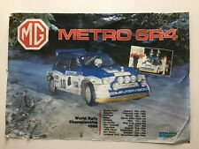 New listingMg Metro 6R4 Dealership poster