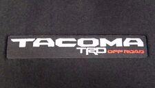 2016-17 Toyota Tacoma TRD OR D-Cab A/T Carpet Floor Mats Genuine OEM OE