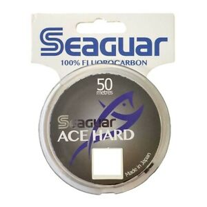 Seaguar Ace Hard Flurocarbon Tippet 50m * NEW 2021 STOCK * Fishing Flurocarbon