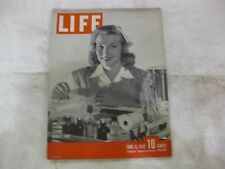 Life Magazine June 8th 1942 Nurses Aid Published By Time         mg145