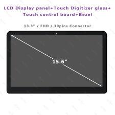 FHD HP Pavilion X360 15-BK149NZ 15-BK163DX LCD Touch Screen Replacement w/Bezel