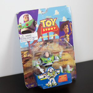 Disney 1995 Super Sonic Buzz Lightyear Action Figure Toy Story Vintage New