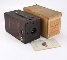 KODAK NO. 4 BULLET SPECIAL, 1898 MODEL, + CARDBOARD BOX +INSTRUCTIONS/cks/205500