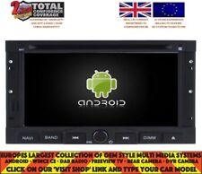 Autoradio DVD GPS Navi BT ANDROID 7.1 DAB + Wifi Peugeot 3008/5008 2009-11 H5738