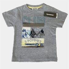 T-shirt  gris 3 POMMES 3 ans (Dep226 20825)