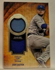 Jon Lester # 11/25 Dual Patch 2017 Topps Tier One