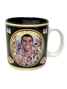 Vintage Magic Johnson Los Angeles Lakers 1992 Basketball Limited Coffee Mug Cup