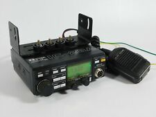 Icom IC-28A Vintage VHF FM Ham Radio Transceiver w/ Mic + Bracket (works great)