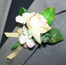 Yellow Flower Boutonniere, Wedding Accessories, Prom