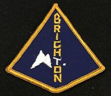 MT BRIGHTON Vintage Skiing Ski Snowboard Patch MICHIGAN MI Resort Travel