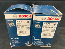 2-Pack BOSCH F5201 Fuel Filter Fits BMW 3 5 7 E23 E21 E12 CITROEN Xm