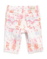 Levi's Girls Stella Stunner Skimmers Capri Shorts Sizes 2T, 3T, 4T NEW W TAG $36
