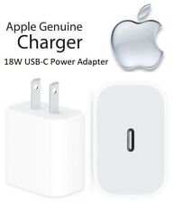 Apple iPhone 11 Pro Max 18W USB-C Power Adapter Fast Charger (MU7T2LL/A) A1720