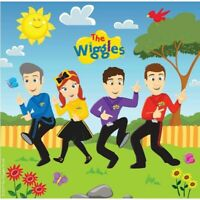 THE WIGGLES LUNCH NAPKINS PACK OF 16 BIRTHDAY PARTY SUPPLIES