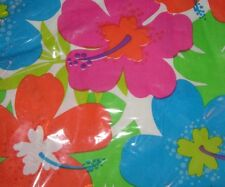 """new PAPER NAPKINS 13"""" Hibiscus Luau Tropical Hawaian Luncheon 16 PACK Party"""