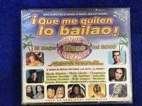 QUE ME QUITEN LO BAILAO 3 x CD GLORIA ESTEFAN CHAYANNE ELVIS CRESPO SANTANA