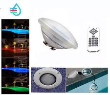 LED PAR56 AMPOULE LAMPE PROJECTEUR Piscine éclairage Télécommande 18W-35W RGB CE