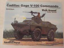 Squadron Signal Book: Cadillac Gage V-100 Commando Walkaround 5708