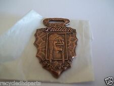 Indian Motorcycle Watch Fob Arrowhead Chief