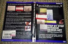 Step by Step Interior Design (Abstract) Art DVD Series 2 by Glenn Farquhar PAL