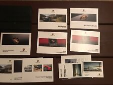 2013 Porsche 911 Carrera Owners Manual With Case And Navigation OEM FS