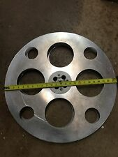 "Vintage Goldberg Brothers Denver 35mm Metal 24"" Film Movie Reel Aluminum EZ HUB"
