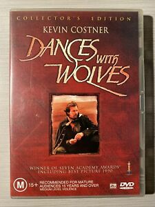 Dances With Wolves - Kevin Costner - Like New R4 DVD