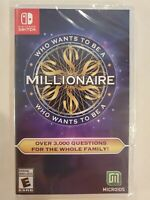 Who Wants to be a Millionaire for Nintendo Switch [New Video Game] FREE S/H