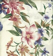 Jubilee Pink Blue Floral Tailored Curtain Valance