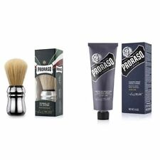 Proraso Single Blade Azur Lime Shaving Set / Shaving Cream 100ml-Large Brush