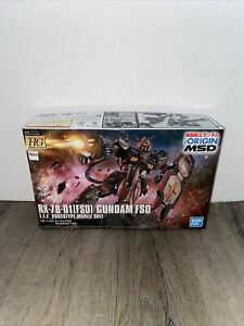 Bandai HG Gundam THE ORIGIN MSD Gundam RX-78-01 [FSD] 1/144 Scale Model NEW