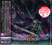 CRY VENOM / Vanquish the Demon JAPAN CD NEW first edition with sticker