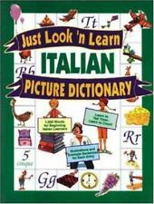 Just Look 'n Learn Italian Picture Dictionary (Just Look'n Learn-ExLibrary