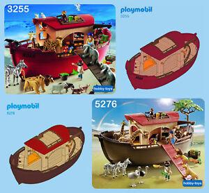 * PLAYMOBIL 3255 5276 9373 * NOAH'S ARK * ANIMALS + SPARE PARTS SERVICE *