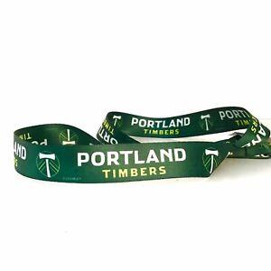 Portland TIMBERS Premium 2-side Lanyard Keychain MLS  Soccer Football Club Green