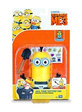 Despicable Me 3 Deluxe Action Figure Minion Jail Time Tattoo Tim