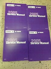 2005 Hummer H2 H 2 Service Repair Shop Workshop Manual Set FACTORY OEM NEW