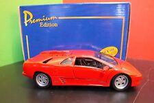 RED Lamborghini Diablo 1/24 Scale Welly Diecast NEW  with COA American Mint
