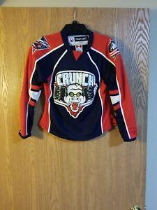 Syracuse Crunch AHL Reebok CCM Sewn Jersey Youth S/M EUC