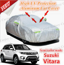 Premium Semi Tailor Made Waterproof Aluminum Car Cover SUV Size Suzuki Vitara