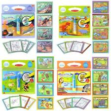 Reusable Coloring Magic Water Painting Book Baby Kid Doodle Write Draw Board Toy