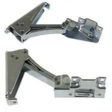 2 x Indesit Fridge Freezer Integrated Ingol Door Hinge Bracket Pair Upper Lower