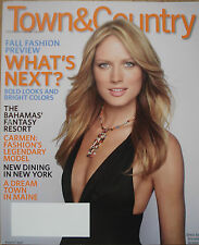 Town & Country USA Magazine - August 2007 - FALL FASHION PREVIEW