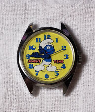 old Bradley Smurf time character watch