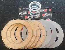 Serie dischi frizione FERODO modifica a 4 sughero Vespa 50 Special 125 Primavera