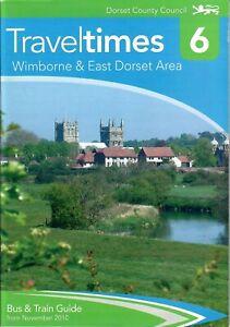 Dorset County Council Traveltimes Book 6 Wimborne & East Dorset Area Nov 2010